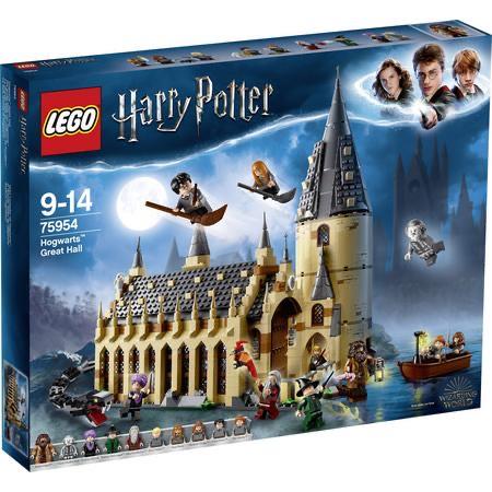 Lego 75954 Die große Halle von Hogwarts (mit 8€ Füllartikel 61.99 möglich)