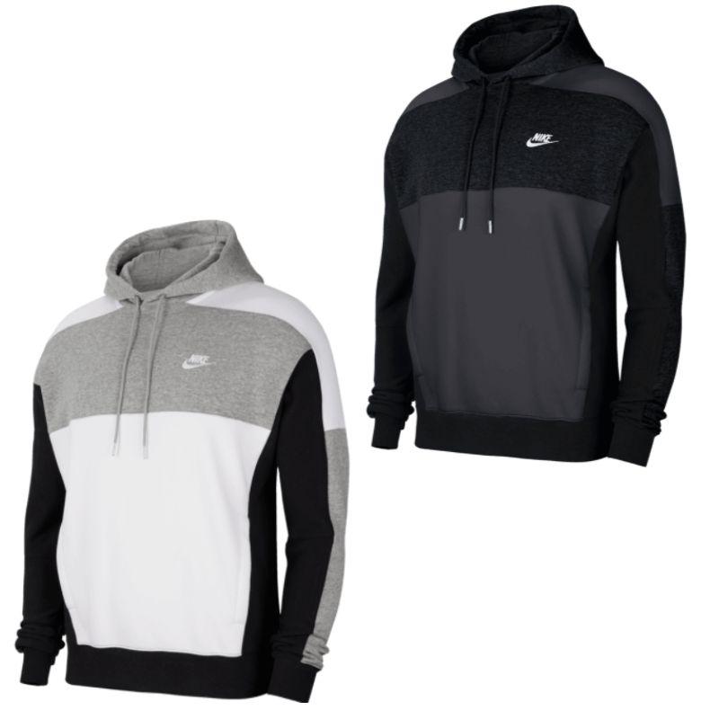 Nike Kapuzenpullover Sportswear BB CB im Farbblockdesign in 2 Ausführungen