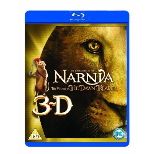 Die Chroniken von Narnia - Die Reise auf der Morgenröte (Extended Version) (+ Blu-ray + DVD + Digital Copy) [Blu-ray 3D] für 13,15 € @ Amazon.uk