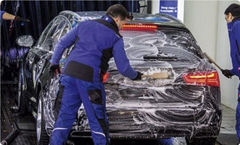 (LOKAL) Top Wash Premium Autopflege Autowäsche - Das Beste mit Superschaum - Eschborn/Frankfurt/Bad Nauheim