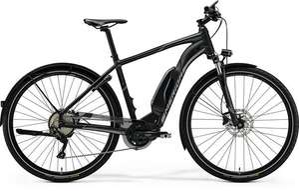 MERIDA ESPRESSO URBAN 600EQ 2018 SCHWARZ E bike Rh 43, 47 & 51 cm