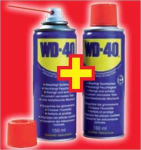 WD-40 Multifunktionsspray 2 x 150ml Dose für 3,88 Euro Euro [ Norma ]