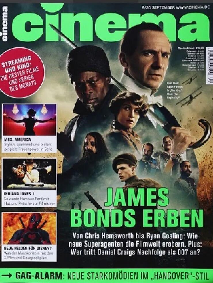 Cinema Abo (12 Ausgaben) durch Rabatt für 37,76 €