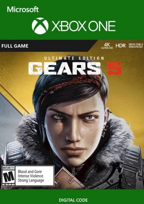 Gears 5 Ultimate Edition inkl. Gears of War 4 (Xbox One/PC Digital Code Play Anywhere) für 21,99€ (CDkeys)