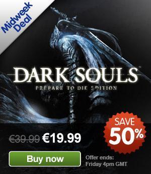 [STEAM] Dark Souls: Prepare to Die für 16€, Postal 3 für 12€, Inversion für 16€, Train Simulator 2013 für 10€ und mehr bei GMG