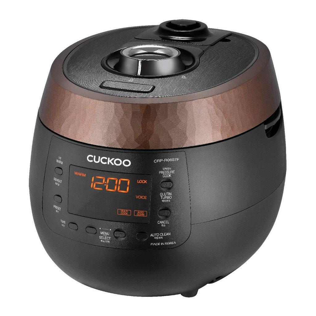 Cuckoo CRP-R0607F Dampfdruck Reiskocher (HP), Schnellkochtopf und Schongarer