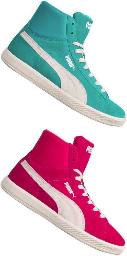 """PUMA Leder-Sneaker """"Lite Mid Suede"""" für 19€ + 3,95€ VSK (2 Farben verfügbar, Größe 38 - 45) [SportSpar]"""