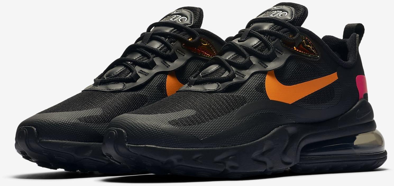 Nike Air Max 270 React Sneaker schwarz für 79,99€ inkl. Versand (Footlocker)