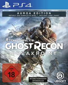 ( GAMESTOP ) Tom Clancy's Ghost Recon Breakpoint Auroa Edition PS4 17,45€ bei Abholung