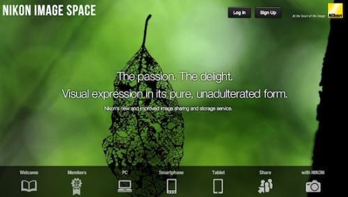 Nikon Image Space 20 GB gratis