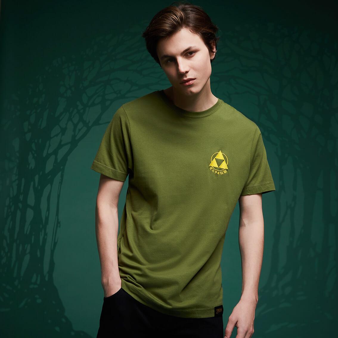 40% Rabatt auf lizenzierte Nintendo Kleidung (T-Shirts, Pullover & Hoodies) - z.B. Legend Of Zelda Triforce Embroided T-Shirt
