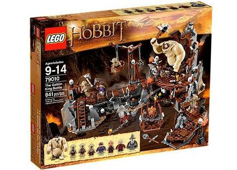 [Amazon.co.uk] LEGO 79010 Hobbit: Höhle des Goblin Königs für 64,63 inkl. VSK