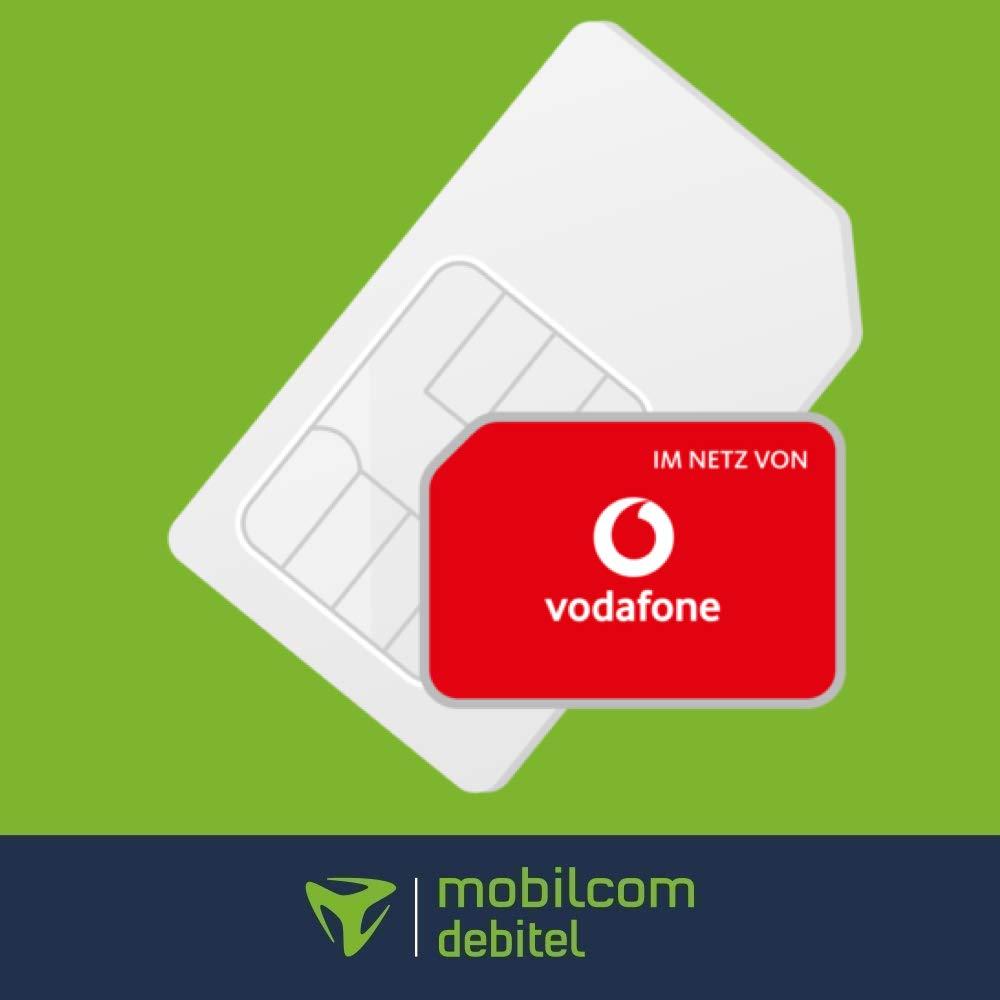mobilcom-debitel Vodafone green LTE mit 6GB LTE (50 Mbit/s) Datenvolumen + Allnet-Flat für 5,99€ / Monat [Vodafone-Netz, 24 Monate]