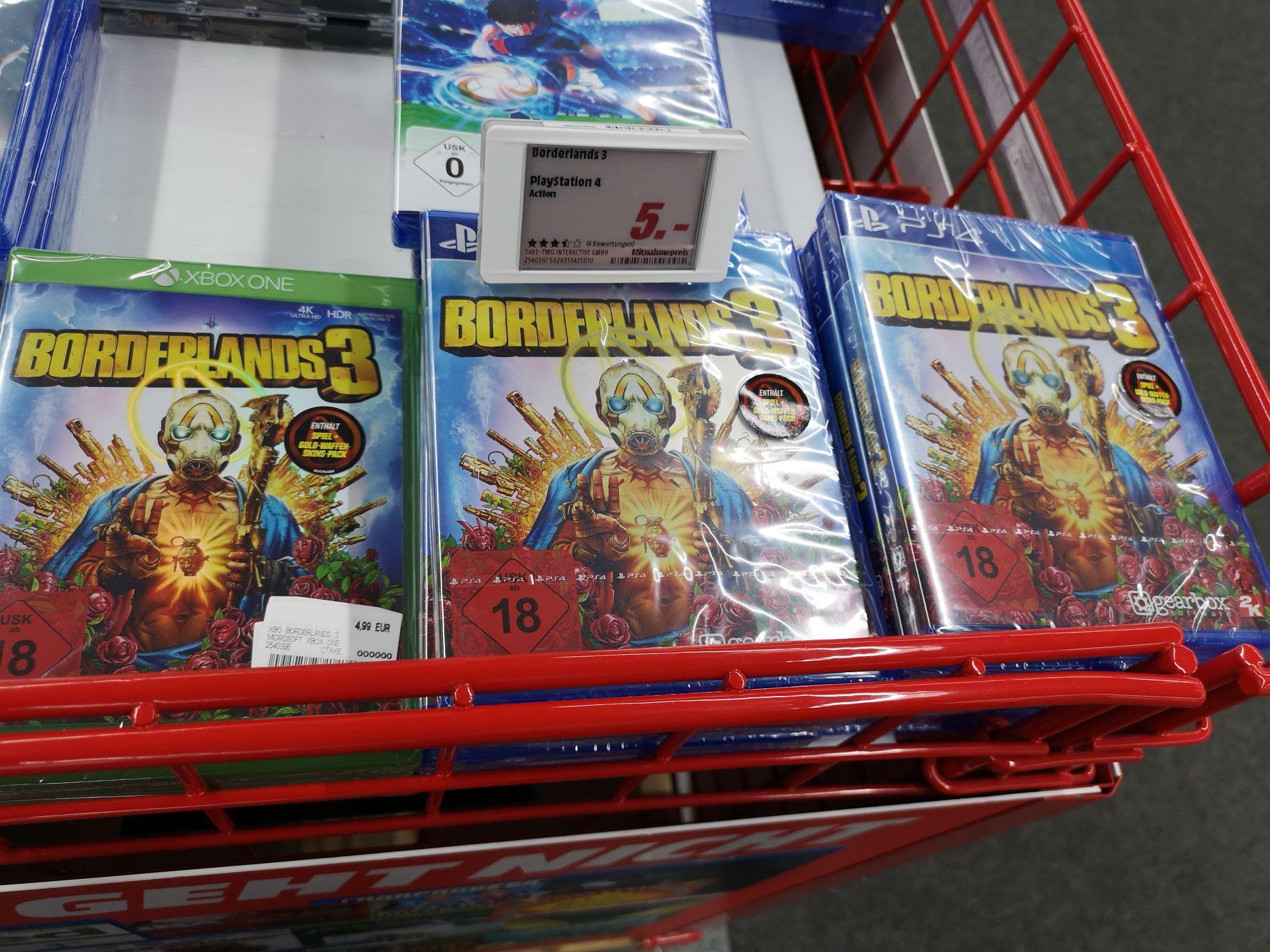 [Lokal Weilheim] Mediamarkt Borderlands 3 PS4 Xbox One