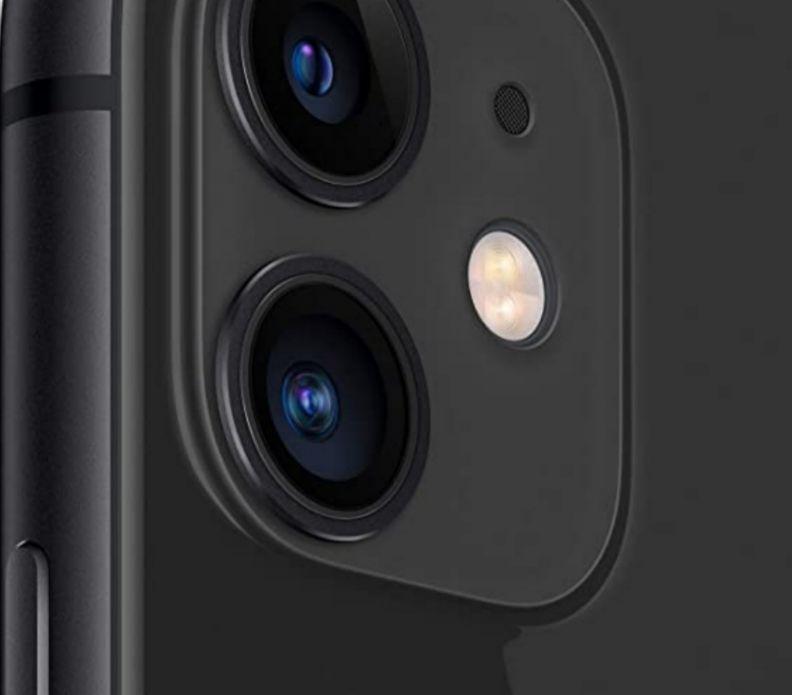 Iphone 11 mit 64 GB in schwarz, rot und weiß