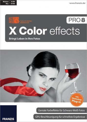 X Color effects Pro 8 + Topseller-E-Book für 39,- €