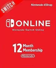 Nintendo Switch Online 12 Monate Mitgliedschaft für 14,29€ (CDkeys)