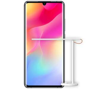 "Xiaomi Mi Note 10 Lite 64/6GB + Mi Smart Desk Lamp 1S (Snapdragon 730, 6.47"" Amoled, 5260mAh Akku, 64MP Kamera, NFC: Google Pay)"