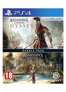 Assassin's Creed Double Pack: Origins + Odyssey PS4 (base.com)