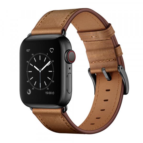 Echte Lederarmbänder für die Apple Watch zum Knallerpreis!