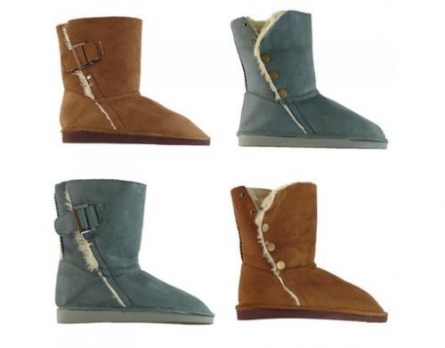 Dirx Damenschuhe Stiefel Schuhe Yeti Boots, 11,99 €, versandkostenfrei