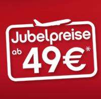 airberlin: 1 Million Tickets ab 49,- € (nur bis 31.01.2013)