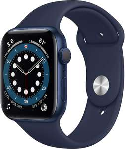 [Vorbestellung] Apple Watch Series 6 Smartwatch - 44mm, Aluminium, blau (Amazon UK)
