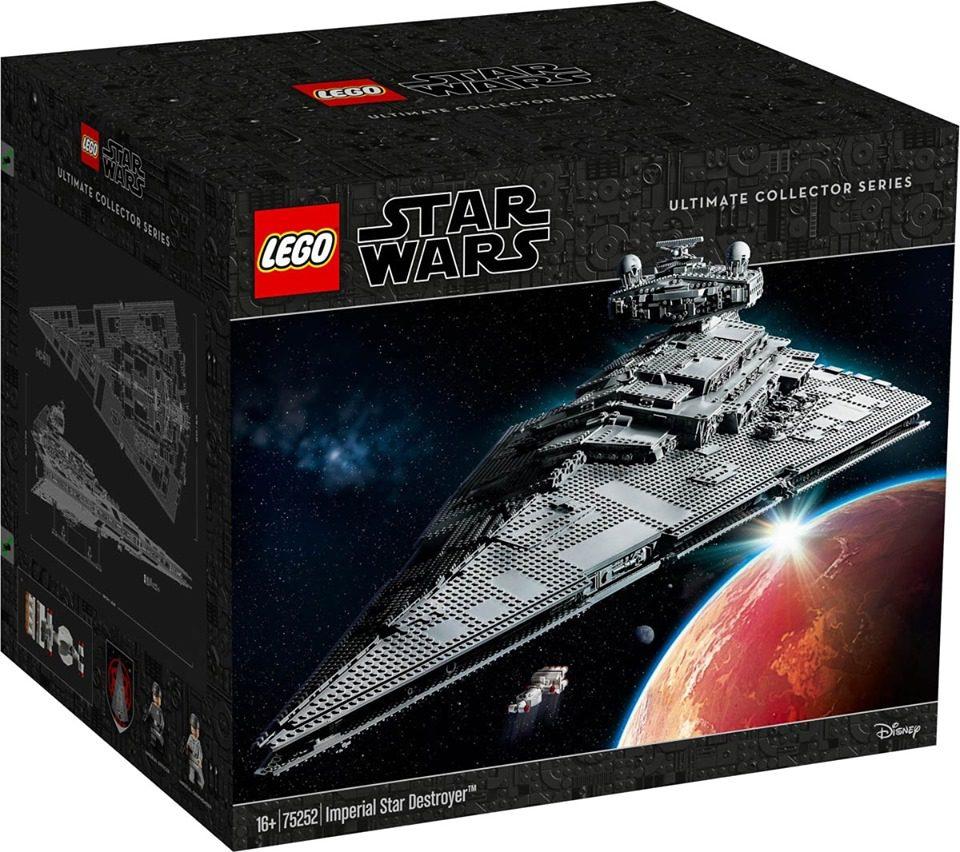 LEGO Star Wars UCS Imperialer Sternzerstörer (75252) für 559,95 Euro [El Corte Inglés]