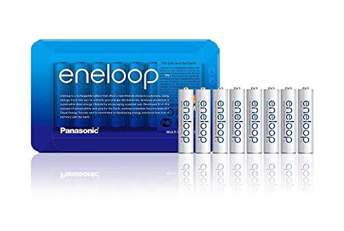 [Amazon Prime] Panasonic eneloop AAA Micro, 8er Pack mit wiederverwendbarer Verpackung