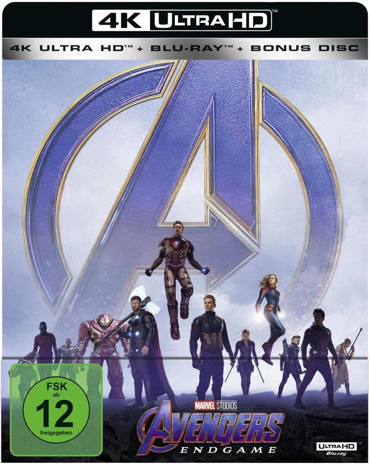 [cede.de] Avengers Endgame 4K UHD Steelbook + weitere