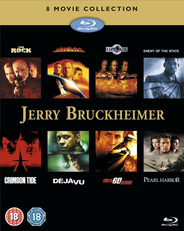 Jerry Bruckheimer: 8 Movie Collection (Box Set) [Blu-ray] -teilweise mit deutscher Tonspur- für 17.14€ @ Zoom