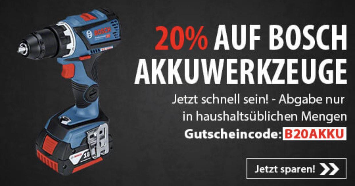 [SVH24] 20% auf Bosch Akkugeräte