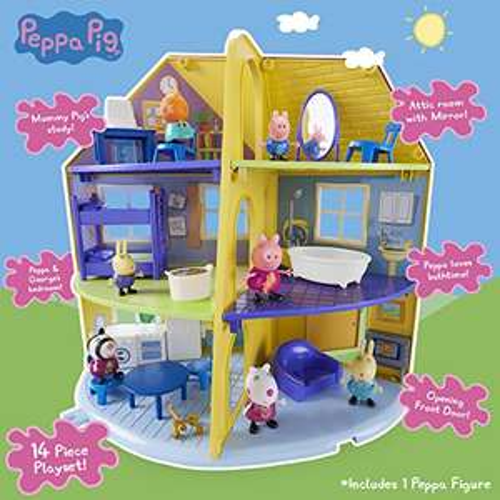 [PRIME] Peppa Pig Peppa Wutz Family Playset