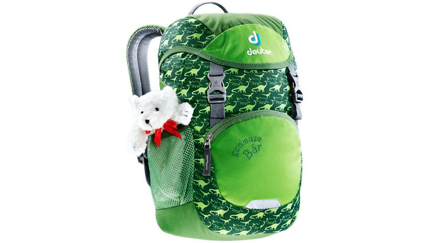 (BOC24) Deuter Kinderrucksack Schmusebär Grün 8l Kinderrucksack