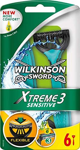 [Amazon Prime] 6er Pack Wilkinson Sword Xtreme 3 Sensitive Einwegrasierer für 2,91€ (oder im Spar-Abo für 2,62€)