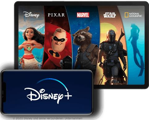 Disney+ 3 Monate kostenlos (Neu- und Bestandkunden) [Congstar]