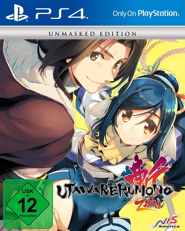 Utawarerumono: ZAN - Unmasked Edition (PS4, Spiel + Soundtrack + Artbook, Japanisch mit englischen Untertiteln, Metacritic 59/3.8)