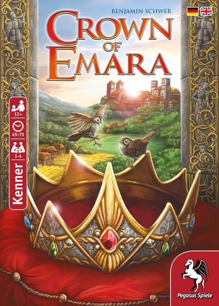 Crown of Emara (Brettspiel, Gesellschaftsspiel)