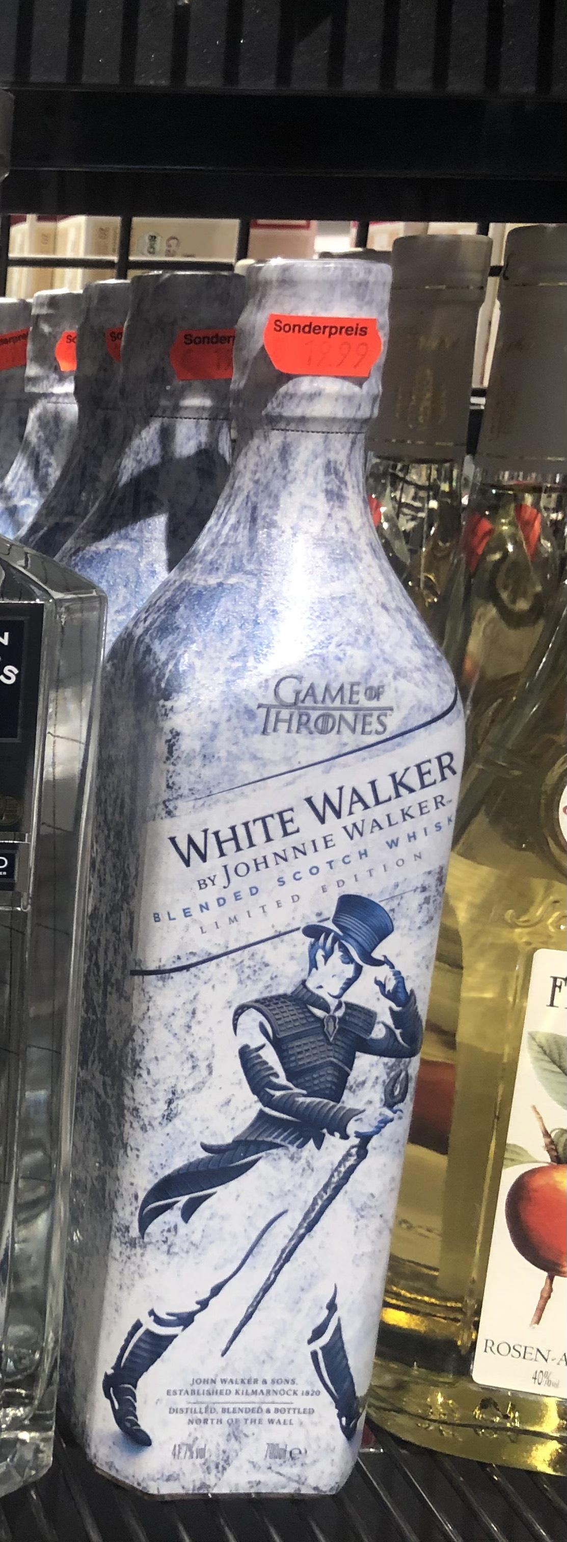 Johnnie Walker White Walker – Game of Thrones Limited Edition – Lokal Hamburg