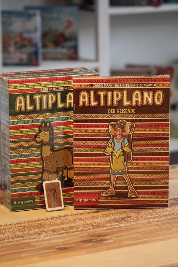 Brettspiel Bundle: Altiplano + Erw. Der Reisende + Sonnige Tage