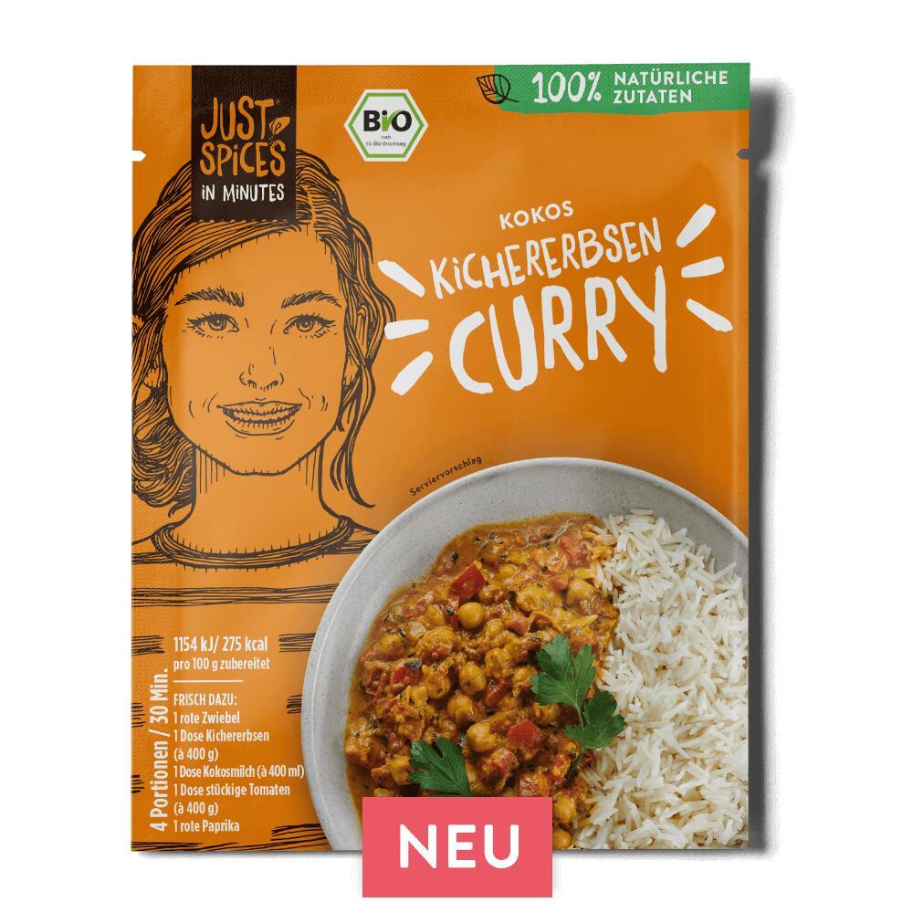 Gratis Kokos Kichererbsen Curry soviel ihr wollt! + 20% auf eure Bestellungen. Versandkostenfrei ab 39,99€ / Preisfehler