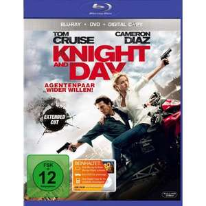 Knight and Day Extended Cut auf BluRay inkl. DVD und Digital Copy Neu ab 6,82 Euro @Amazon Marketplace