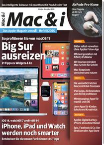 Apple Magazin von c't: Mac & i Abo (2 Ausgaben Print) + 10€ Amazon-Gutschein + Sonderheft Mac & i special Mac Tipps für 14,40 €