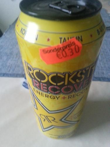 [Lokal: Wesseling] Rockstar Energy+Recovery Lemonade 0,5l exkl. Pfand