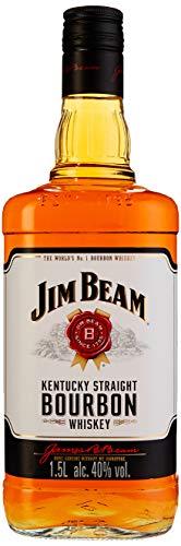 Jim Beam Kentucky Straight Bourbon Whiskey | 40 % vol | 1,5 Lit. Flasche (0,7l entspricht 8,64€)