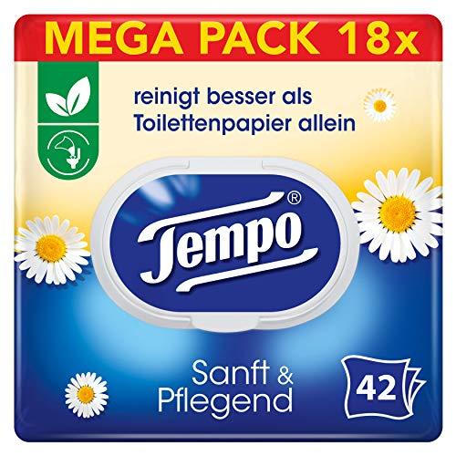 [Amazon Spar-Abo] Tempo Sanft & Pflegend Mega Pack (18 Packungen)