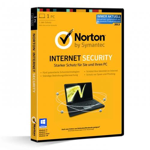 Norton Internet Security 2013 deutsch, 1 Jahr, DVD-Box, @ebay WOW Angebot