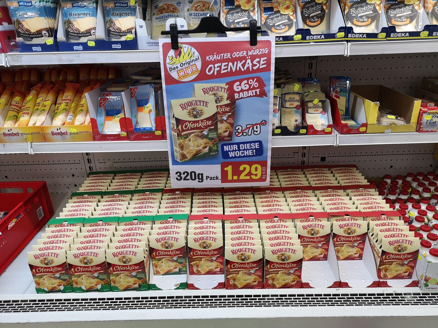 Rougette Ofenkäse verschiedene Sorten (lokal) Wiglo Wunderland Braunschweig
