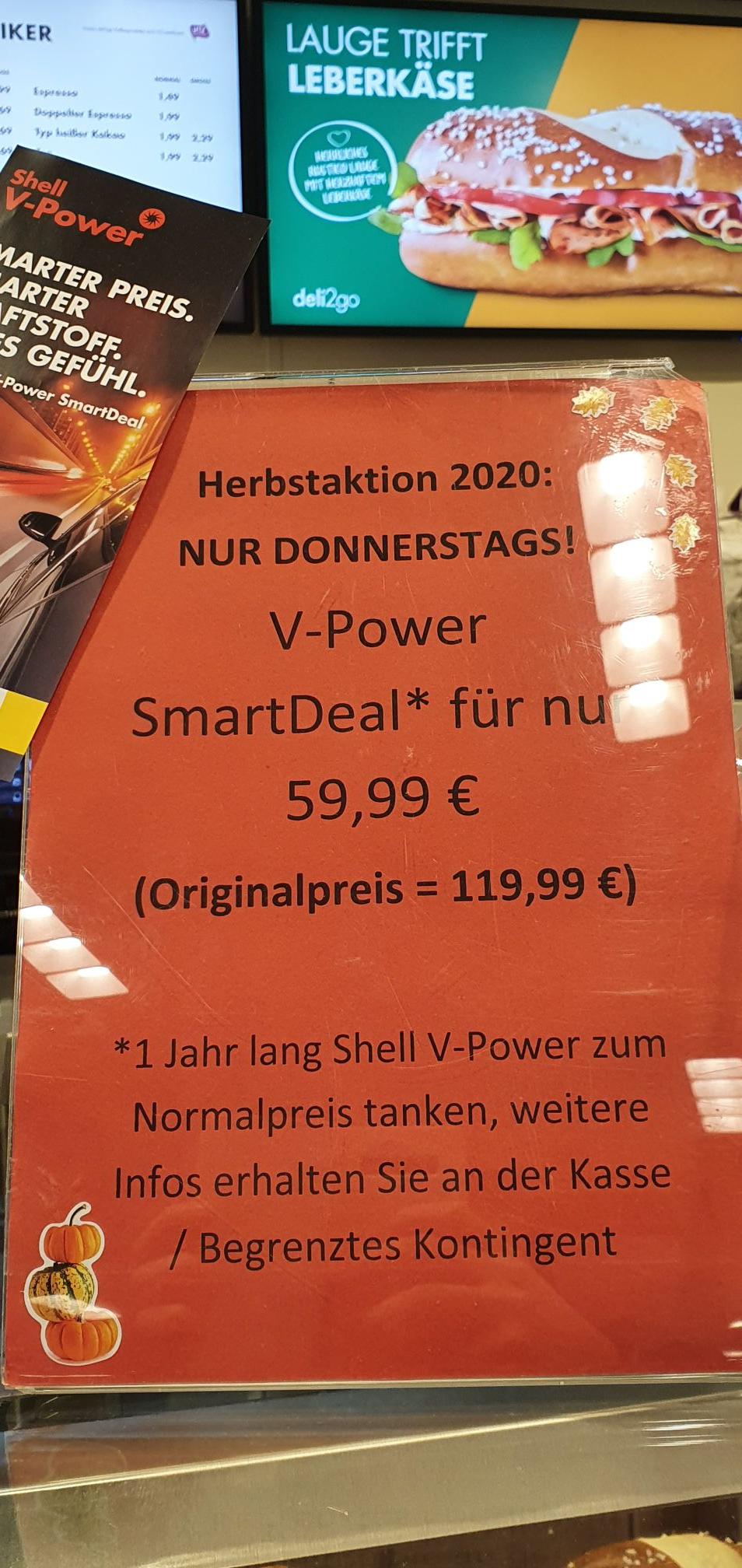 Lokal Solingen - Shell V-Power Smart Deal