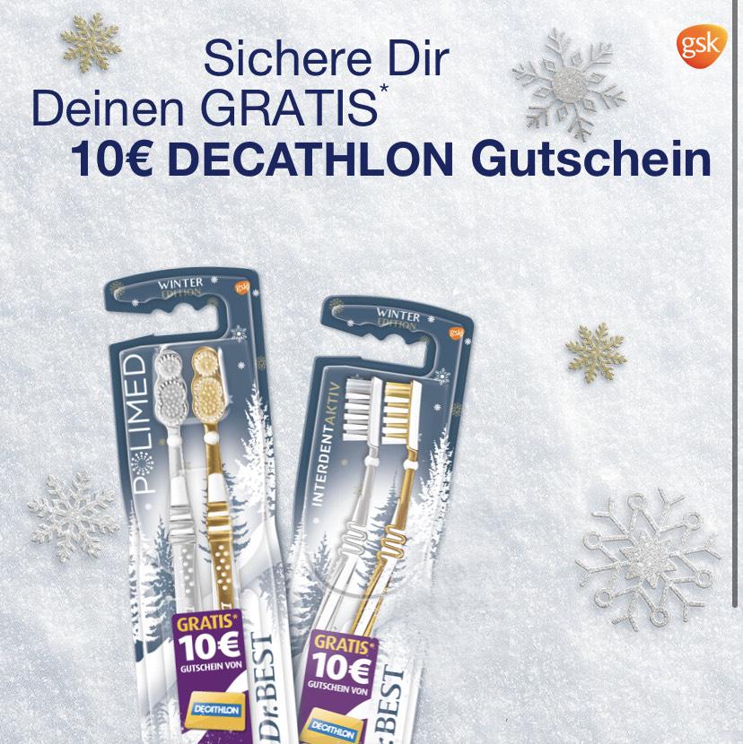 14x Dr.Best Zahnbürsten mit 10-30€ Decathlon Gutschein + 5€ Einkaufsgutschein